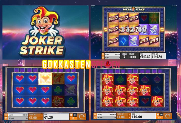 Joker Strike Gokkast spelen